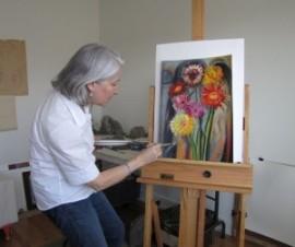 Lévesque, Denise, peinture